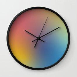 Abstract Gradient No. 11 Wall Clock