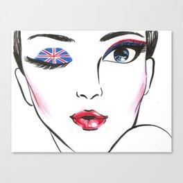 Wink Canvas Print