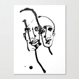 FACES / 019 Canvas Print