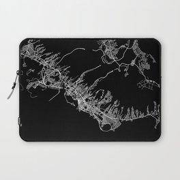 Honolulu map Laptop Sleeve