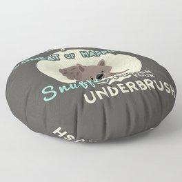 Wombat of Happiness Floor Pillow