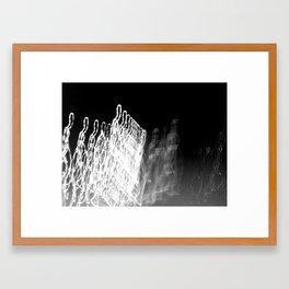 Light Studies VI Framed Art Print