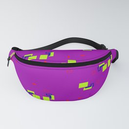 simple geometric pattern rb Fanny Pack