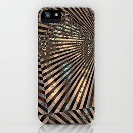 Royal Abstract by Leslie Harlow iPhone Case