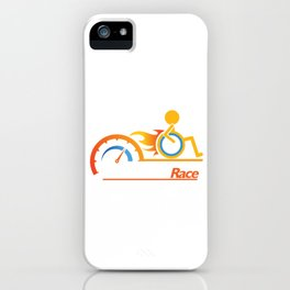 Awesome Handicapped Disability Disabled Human Race iPhone Case