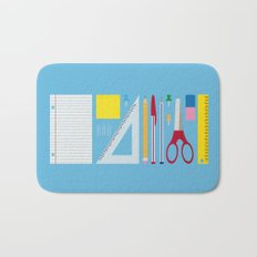 Office Supplies Bath Mat