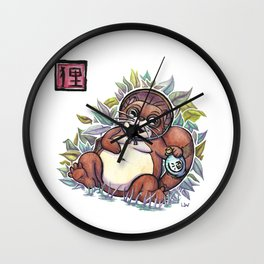 Legends - Tanuki Wall Clock