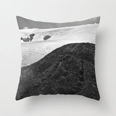 Glacial Icefield Throw Pillow