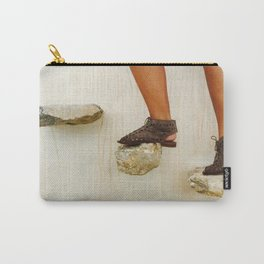 Feet in Greece Carry-All Pouch