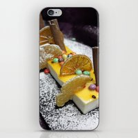 dessert iPhone & iPod Skins featuring Dessert by Ornaart