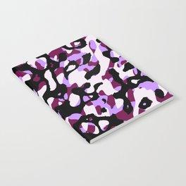 Purple Camo Notebook