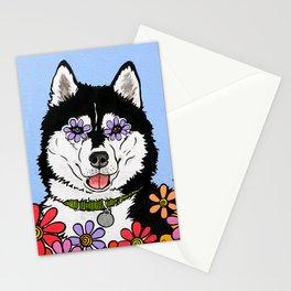 Summit the Husky Stationery Cards