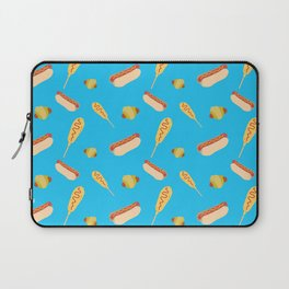 Different Ways to Eat a Hot Dog Laptop Sleeve