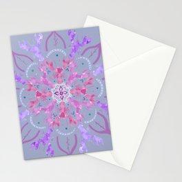 Lobster Flower Pink Stationery Cards