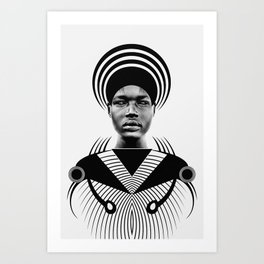 Dark Homonyms IX Art Print