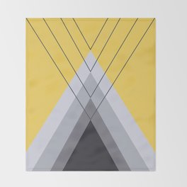 Iglu Primrose Yellow Throw Blanket