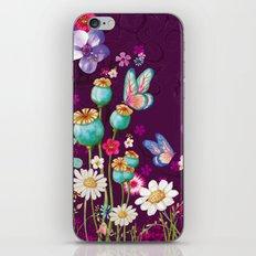 Purple Meadow iPhone & iPod Skin