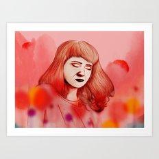 Eivør Art Print