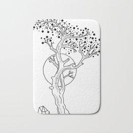 Tree of Life Sign Bath Mat