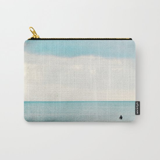 The surf, revisited Carry-All Pouch