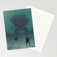 1920 - red wreck Stationery Cards