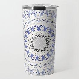 FESTIVAL SUMMER - FADED BLUE Travel Mug