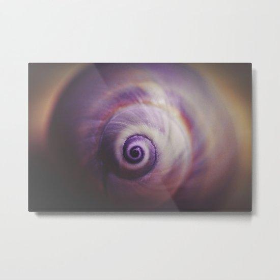 Spiral II. Metal Print