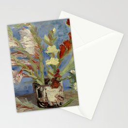 """Vincent Van Gogh """"Vase with Gladioli and Chinese Asters"""" Stationery Cards"""