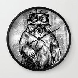 toxic bear  Wall Clock