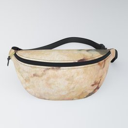 Christmas Dessert Mince Pies Still Life Watercolour Sweet Food Pastry Fanny Pack