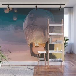 Light Up the Night Wall Mural