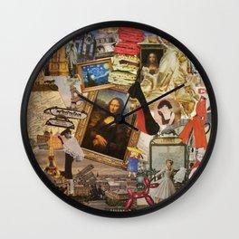 Everything Paris Wall Clock