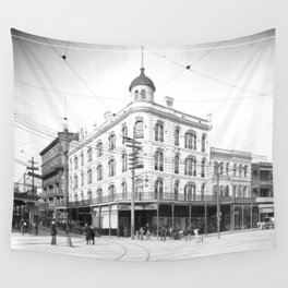 Chess, Checker, and Whist Club, New Orleans 1903 Wall Tapestry