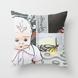 Baby/Schmetterling/brittmarks Throw Pillow