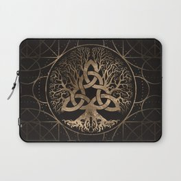 Tree of life -Yggdrasil with Triquetra Laptop Sleeve
