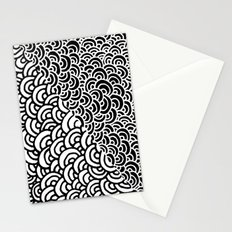 Double Scallop Stationery Cards