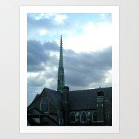 spires Art Prints featuring  Spires by Jean Ladzinski