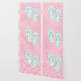 Flip Flop Pastel Wallpaper