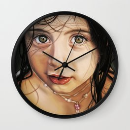 Little girl Wall Clock