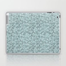 A Plethora of Relaxed Hands in Blue Laptop & iPad Skin