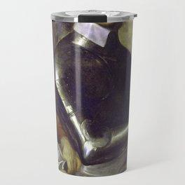 Zombie Oliver Cromwell Travel Mug
