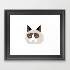 Tar Dar Cat Framed Art Print