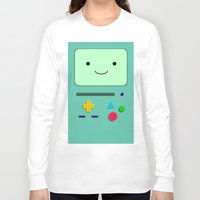 bmo Long Sleeve T-shirts featuring BMO by skyetaylorrr