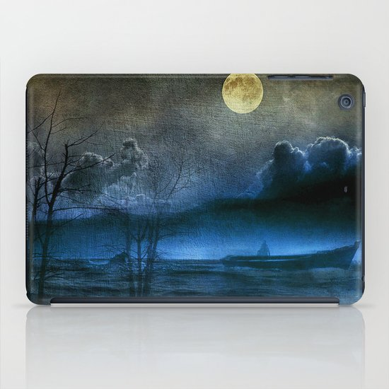 Trip in the dark II iPad Case