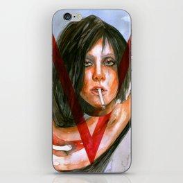 LadyGaga as Editor iPhone Skin