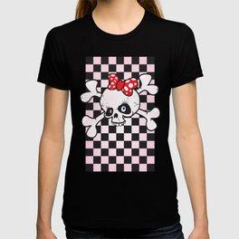 girl power skull T-shirt