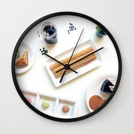 International Dessert Party Wall Clock