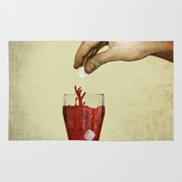 tea Area & Throw Rugs featuring Tea by gazonula