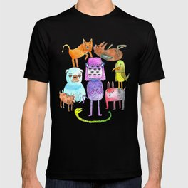 Animal Pyramid T-shirt