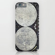 The Earth's Moon Map iPhone 6s Slim Case
